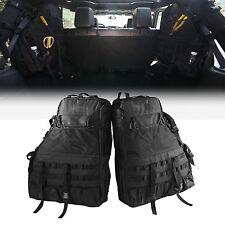 Jeep Storage Bag Multi-Pockets 2 Side Roll Cage Cargo for Jeep Wrangler JK 4-...