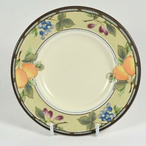 """Mikasa """"GARDEN HARVEST""""  CAC29 - Saucer(s) - 16.5cm wide - GOOD used condition"""