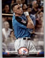 Aaron Judge 2018 Topps Update TOPPS SALUTE Insert Yankees #S-18