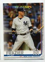 2019 Topps Series 2 CLINT FRAZIER Rare FUTURE STARS #412 New York Yankees