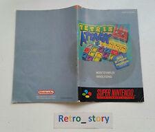 Super Nintendo SNES Tetris Attack Notice / Instruction Manual