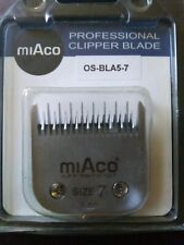 New listing MiAco Blade Replacement Size 7; 3mm See pictures for details.