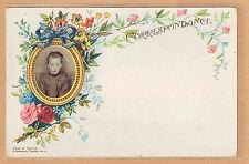 Carte Photo vintage card RPPC fillette souvenir d'école écolière pz0336
