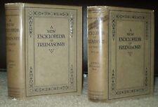 VERY RARE IN DJ, 1921, 1ST ED, A E WAITE, ENCYCLOPAEDIA OF FREEMASONRY, OCCULT