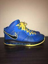 Nike LeBron 8 VIII V/2 Photo Blue Entourage Size 9 Air Zoom Generation