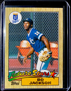 1987 Topps Bo Jackson #170 Future Stars Rookie KC Royals - Free Shipping