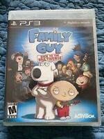 Family Guy: Back to the Multiverse (Sony PlayStation 3, 2012) PS3 New Sealed