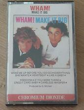 Cassette Tape K7 - WHAM ! - Make It Big - Chromium Dioxide - VFCT 39595 - CRo2