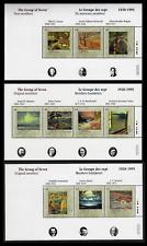 Canada — 3 Souvenir sheets — Canada Day, Group of Seven #1559-1561 — MNH