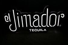 """El Jimador Tequila Led Neon Light Sign Lamp 24"""" x 12"""" For Man Cave or Bar"""