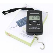 1 x 40kg  Portable Pocket Electronic Hanging Luggage Fishing  Digital Scale UK