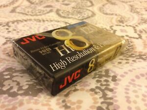 """JVC"" New HI8 Metal 8mm Video Cassette 120 HMP NTSC High Resolution & Pure Color"