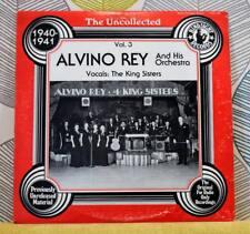 Alvino Rey ORCHESTRA-Uncollected 1940-1941 [Vinyl LP, 1983] USA HSR-196 * EXC