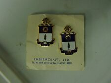 MILITARY INSIGNIA CREST DUI SET OF 2 UNSURE DUTY