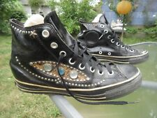 Converse Chuck Taylor Riveted Black Patent Leather Hi Top / Us men 8 / Used