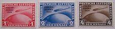 Deutsches Reich - 3x Luchtpost Graf Zeppelin Polarfahrt postfris ND
