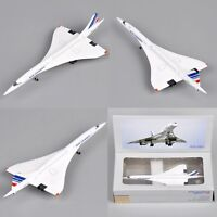 Aircraft 1/400 Diecast Air France 1976-2003 Concorde Plane Model Toy
