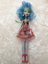 "Monster High 11"" Doll GHOULIA YELPS SKULL SHORES BEACH SWIMSUIT"