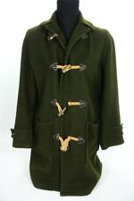 Woolrich Green Wool Toggle Duffle Coat 1950's - 60's Defects 42