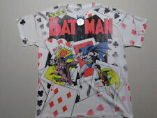 FULL PRINT DC COMICS BATMAN t shirt NEW NWT sz M comic book movie joker