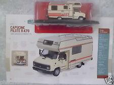 """CAMPING-CARS """"LA CAPUCINE PILOTE R 470"""" CHÂSSIS CITROËN C25 (1984)-(1/43éme)."""
