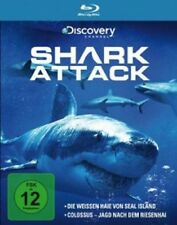 SHARK ATTACK - WEIßE HAIE VON SEAL ISLAND & COLOSSUS  BLU-RAY DOKUMENTATION NEU