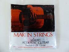 Vintage but New - Martin M-140 Bronze Light Acoustic Guitar Strings