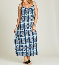 Stunning Ladies TRAPEEZE MAXI DRESS Size 16