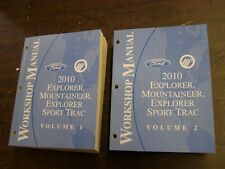 OEM Ford 2010 Explorer Mercury Mountaineer Shop Manual Book + Wiring Diagram nos