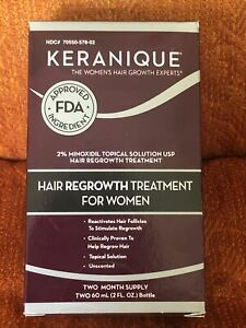 Keranique Hair Regrowth Treatment 2 Month Supply Solution & Spray Exp 9/19