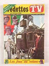 VEDETTES TV N°7 1970 LE RANCH L - LES FOUS DU VOLANT