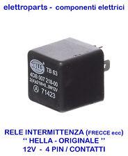 RELE RELAY RELAIS INTERMITTENZA 12V 4 PIN/CONTATTI PER FRECCE AUTO MOTO NAUTICA