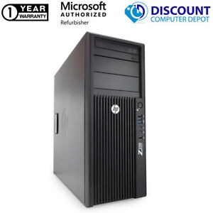 HP Z220 Computer Tower Workstation i7-3770 3.4GHz 16GB 2TB Windows 10 Pro PC