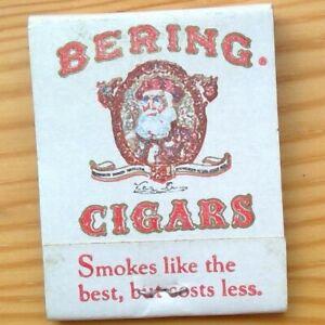 vintage Bering Cigars matchbook