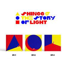 SHINEE [THE STORY OF LIGHT] 6th Album EP 3 Ver SET CD+Fotobuch+FotoKarte SEALED