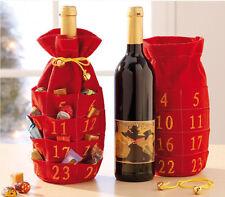 Flaschen Adventskalender Kalender zum Selbstfüllen Weihnachten Advent