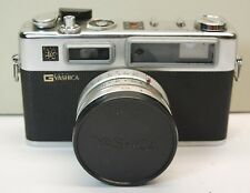 Yashica Electro 35 Camera In Case With Yashinon-DX 1:1.7 f=45mm Lens Photography
