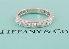 Tiffany & Co Legacy Platinum 1.31 ct Diamond Full Circle Eternity Ring / Band