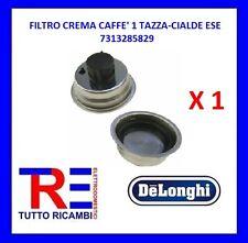 FILTRO CREMA CAFFE' DE LONGHI ORIGINALE 1 TAZZA E CIALDE ESE 7313285829