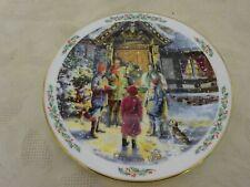 Royal Doulton Collectors Plate Family Christmas Carolling
