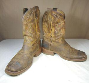 Double H Men's DH3560 Square Toe Cowboy Boots Size 9