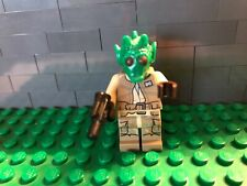 LEGO ® Star Wars ™ personaggio Rodian Alliance Fighter Mini Personaggio Blaster sw0687 75133