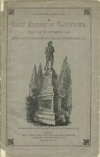 A Centennial Souvenir. A Brief History of Tarrytown, from 1680 to September 1880