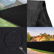 Fence Privacy Screen 5'x 25' Heavy Duty Fence Mesh Windscreen Cover Fabric Shade