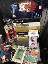 CHICAGO BEARS AUTOGRAPH FOOTBALL BOBBLEHEAD LOT & MORE L@@K! DITKA SAYERS