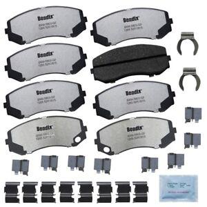 Disc Brake Pad Set-Fleet Metlok Semi-Metallic SDR Disc Brake Pad Front,Rear