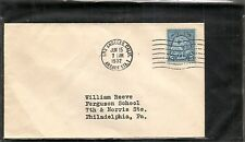 US SC # 719 Olympic Summer Games 1932 FDC. No Cachet
