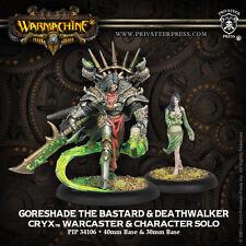 Warmachine BNIB - Cryx Goreshade & Deathwalker (2)  RESCULPT