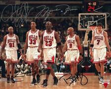 Michael Jordan Bulls the Last Dance pippen  team Signed reprint 8x10 photo Icons