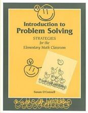 Introduction to Problem Solving: Strategies for the Elementary Math Cl-ExLibrary